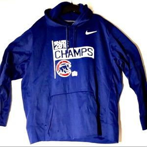 NIKE CHICAGO CUBS WORLD SERIES 2016 SWEATER/XXL